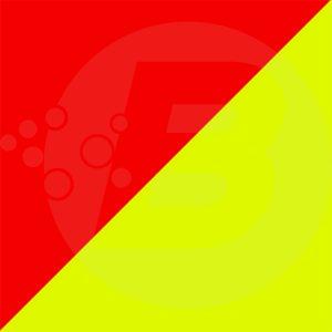 Rouge et jaune