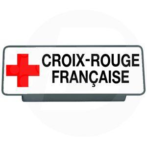 Clip pare soleil croix rouge française