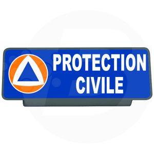 Clip pare soleil protection civile